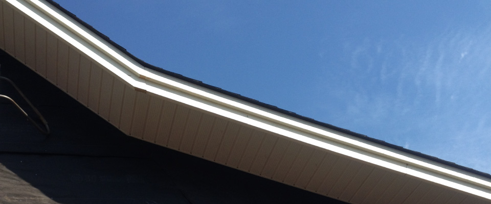 soffits of roof